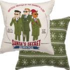 100004_thePHAGshop-Santa's Secret Service Decorative Pillow