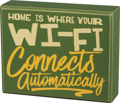 100098_thePHAGshop_Novelty Home WiFi Quote Wood Box Art