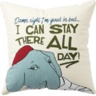 100110_thePHAGshop_Funny Elephant Good In Bed Decorative Pillow