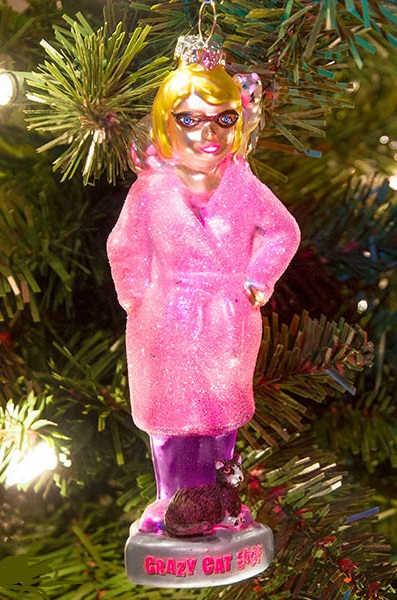 12630_thePHAGshop_Novelty Glass Crazy Cat Lady Ornament