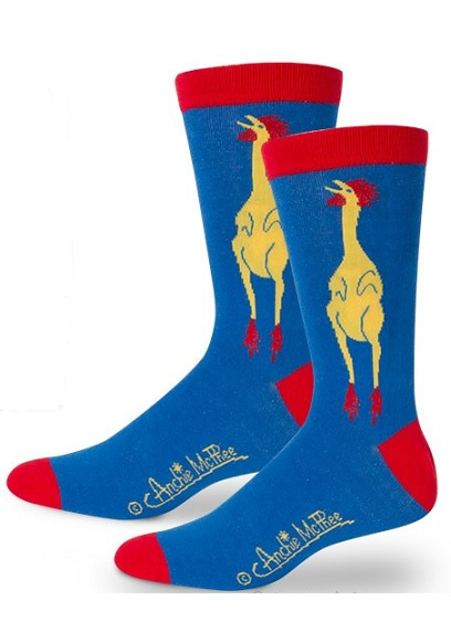 12683_thePHAGshop_Novelty Rubber Chicken Socks