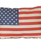 US Flag Pillow