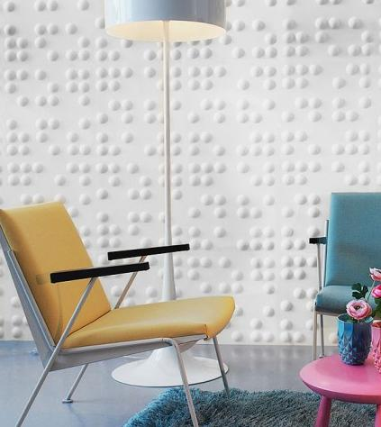 Paper Wall Tiles set 10- recycled paper wall tiles- braille - phag