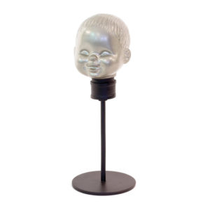 15818_thePHAGshop_Vintage Doll Head Sculpture- Large