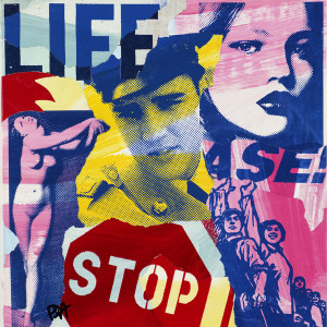 16676 Pop Giclee Canvas- Life