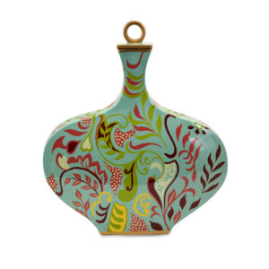 19119_thePHAGshop_Abstract Floral Vase with Lid
