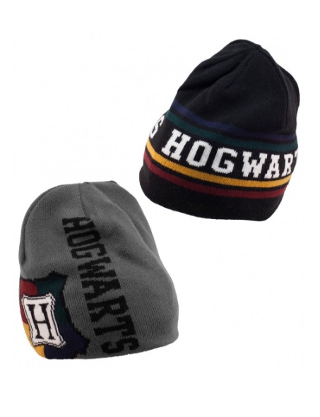 250000_thePHAGshop_Hogwarts Reversible Beanie- Harry Potter