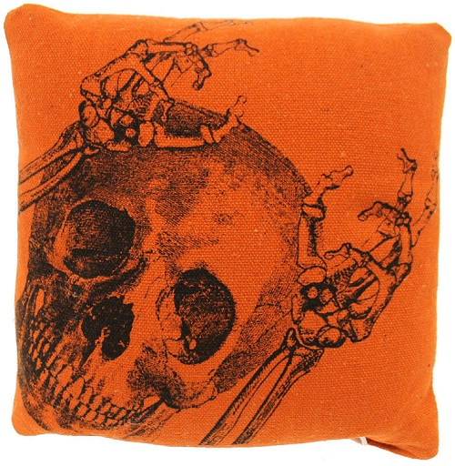 25246 Mini Skeleton Pillow
