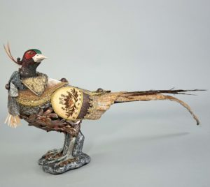 28-728501_thePHAGshop_Ltd Ed PHeasant Sculpture- Fall Harvest