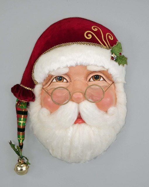 28-728569_thePHAGshop_Ltd Ed Santa Mask Wall Sculpture