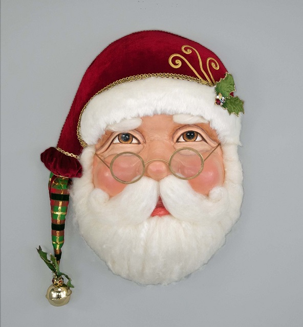 28-728569_thePHAGshop_Ltd Ed Santa Mask Wall Sculpture