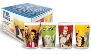 2869_thePHAGshop_Set 4- Jews Glasses- Novelty Juice Glasses