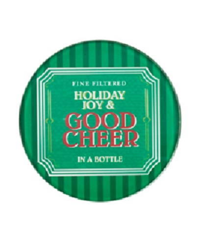 3200_thePHAGshop_Set 4 Glass Christmas Coasters- Good Cheer