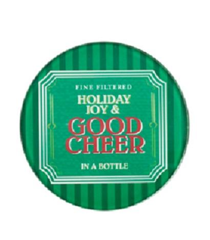 3200_thePHAGshop_Set 4 Glass Christmas Coasters- Good Cheer