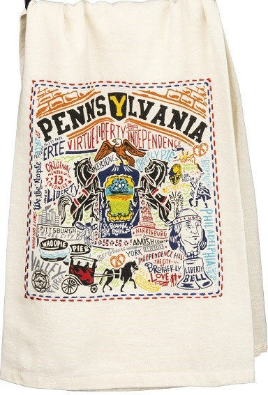 33756_thePHAGshop_Embroidered Pennsylvania State Towel