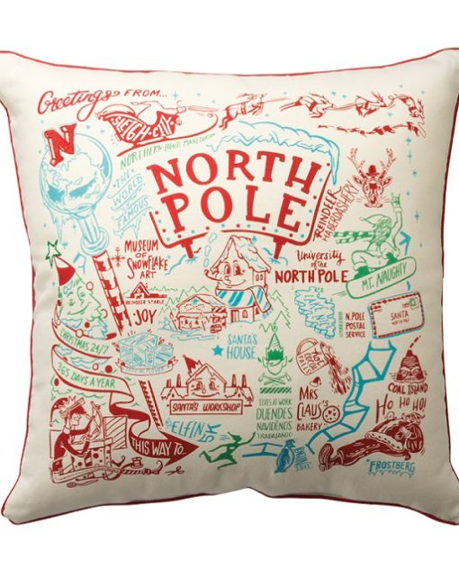 33775_thePHAGshop_Stitched North Pole Map Pillow