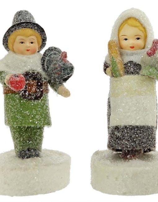 36149_thePHAGshop_Pilgrim Figurines- Mary & Myles Mayflower