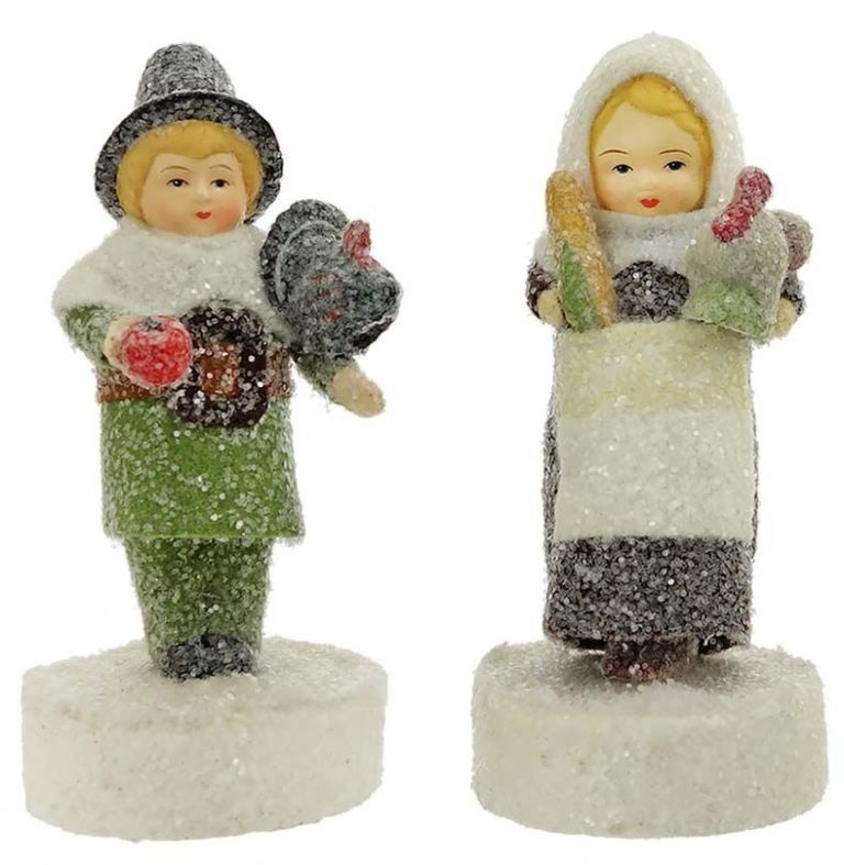 36149_thePHAGshop_Pilgrim Figurines- Mary & Myles Mayflower