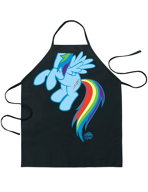 38643_thePHAGshop_Novelty Rainbow Dash Apron- My Little Pony