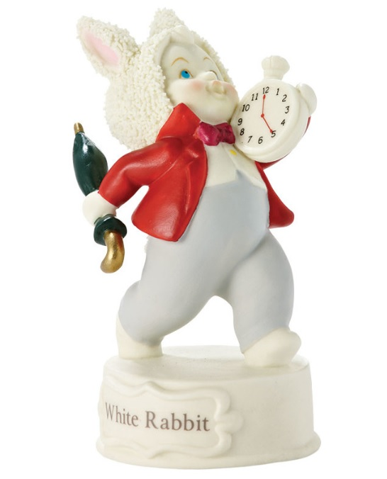 4024851_thephagshop_white rabbit figurine- Alice in Wonderland Snowbabies