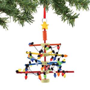 4045109 Retro Game Ornament Tinker Toy Tree