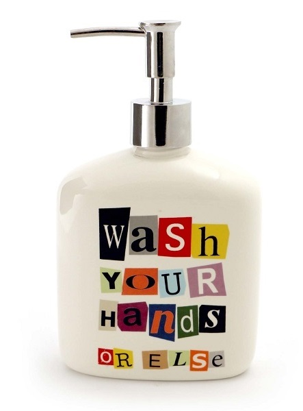 4055305_thePHAGshop_Novelty Ransom Note Soap Dispenser