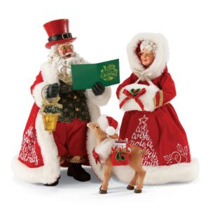 4057126_thePHAGshop_Ltd Ed Caroling Collectible Santa & Mrs. Clause- Set 3