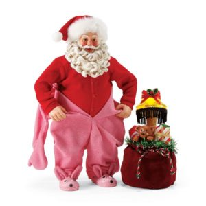 4057319_thePHAGshop_Santa Bunny PJs Clothtique Sculpture- A Christmas Story