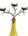 42-264_thePHAGshop_Three Light Branch Bottle Candelabrum- Brown
