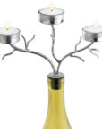42-272_thePHAGshop_Three Light Branch Bottle Candelabrum- Silver