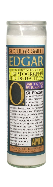 4562_thePHAGshop_Secular Saint Edgar Allan Poe Candle- Back