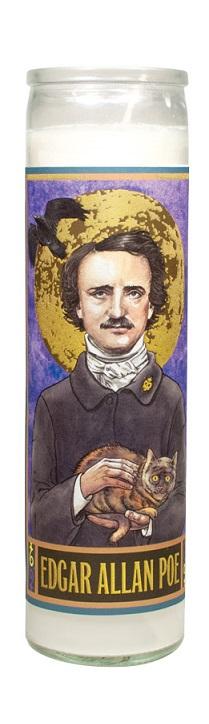 4562_thePHAGshop_Secular Saint Edgar Allan Poe Candle