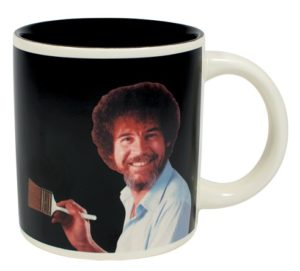 4961_thePHAGshop_Novelty Bob Ross Magic Art Mug Empty- Front