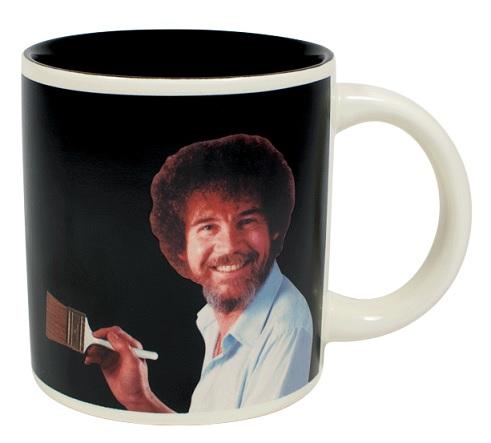 4961_thePHAGshop_Novelty Bob Ross Magic Art Mug Empty- Front