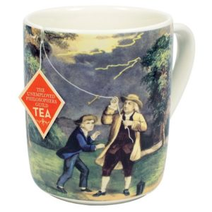 4972_thePHAGshop_Novelty Benjamin Franklin Electrici-TEA Mug