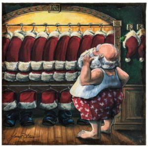 4CSB050_thePHAGshop_Santa Closet Art Print- Burlap