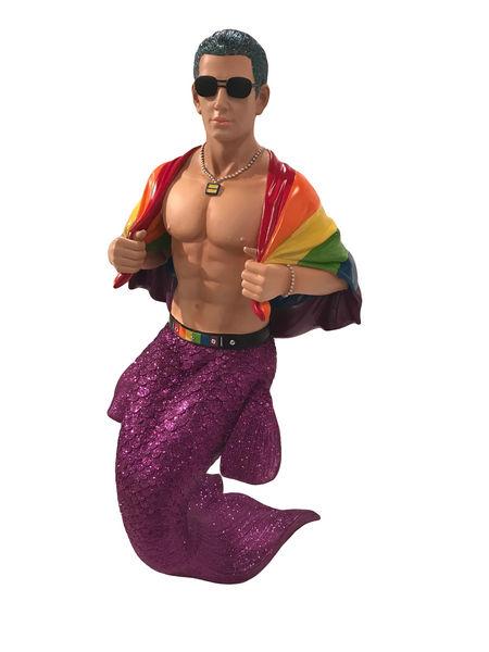 55-90864_thePHAGshop_Collectible Mr. Pride Sexy Merman Sculpture