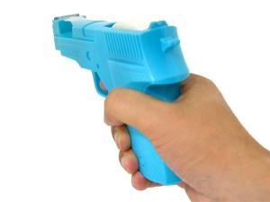 6006B Blue Novelty Tape Gun- Use
