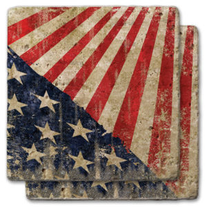 77-693_thePHAGshop_Diagonal Stars and Stripes Coasters- Set 2