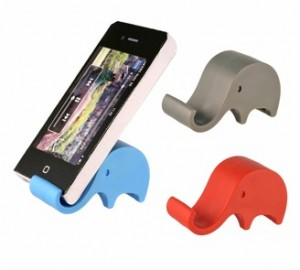 AEY009 Elephant Phone Holder Use