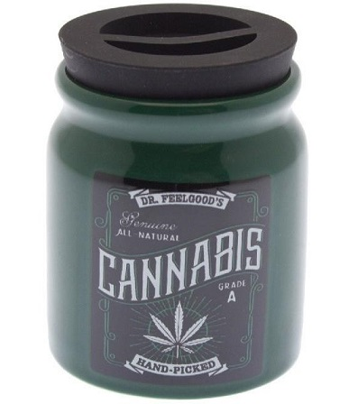 ASJ420_thePHAGshop_Novelty Dr Feelgood Herb Stash Jar