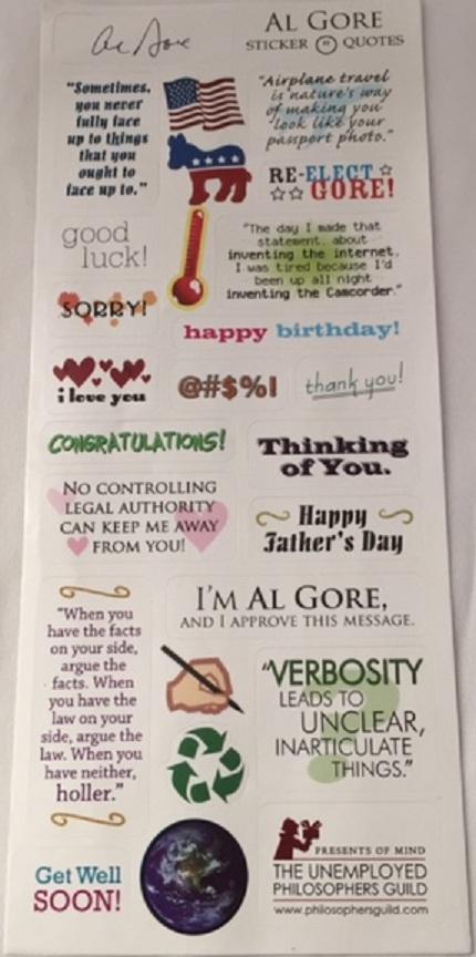 Al Gore Card- Details
