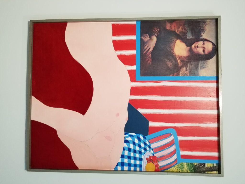 Art Basel- Wesselmann_Great American Nude, 1962
