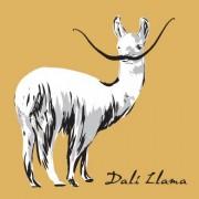 Art and cult tee- dali LLama