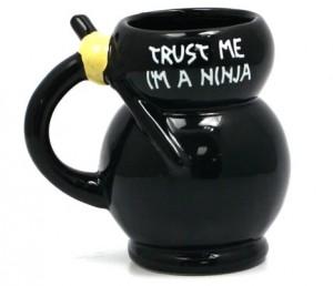 BM1529 Ninja Mug Back