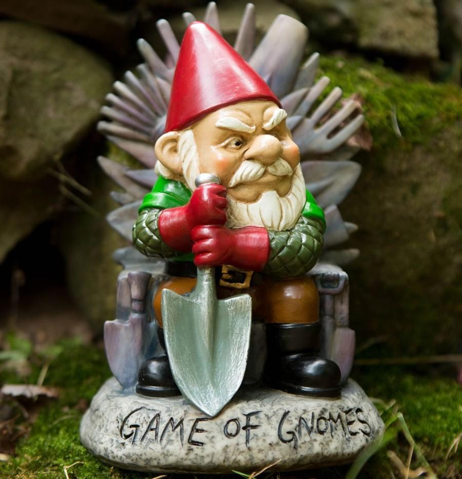 BMGA-GG Garden Gnome Sculpture- Game of Gnomes