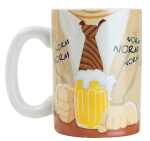 BMMU-CS_thePHAGshop_Classic TV Man Mug_Cheers- Norm Front