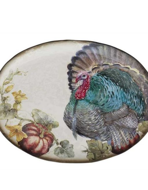 CF2819_thePHAGshop_Oval Thanksgiving Turkey Platter