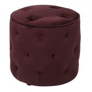CVS905-P19 Diamond Tufted Ottoman- Port