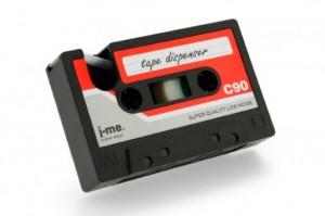 Cassette tape- Red